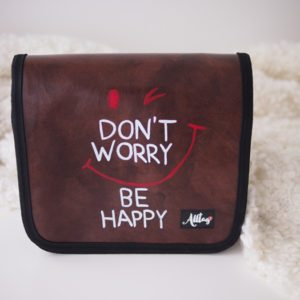 Don't worry be happy_Alltagtasche