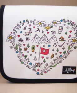 Alltagtasche-Schweizer-Kollektion-Handmade-Handtasche-mittel-Herz