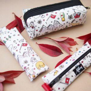 Alltagtasche-Schweizer-Kollektion-Handmade-Handtasche-traditional-swiss-collection-etui-detail