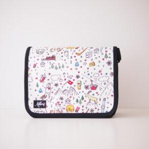 Alltagtasche-Deckel-Handtasche
